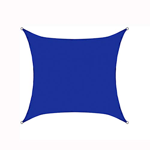 XZPQ Quadratische Markisen, Dachterrasse Mit Außenterrasse Und Balkon, Wärmeisolierung Für Den Haushalt Und Regensicheres Sonnenschutztuch,Blau,3.6x3.6x3.6m