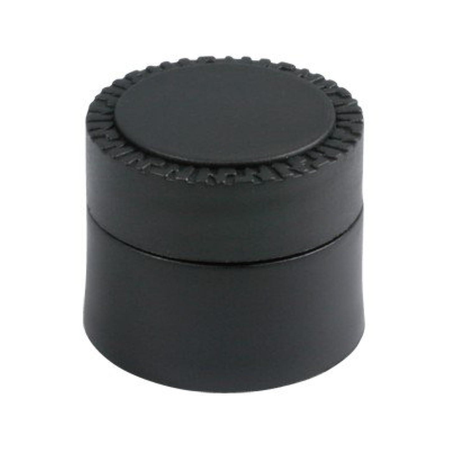 ランク発症弱いメルティージェル NFS MELTY GEL 空容器 黒 (容量5g)