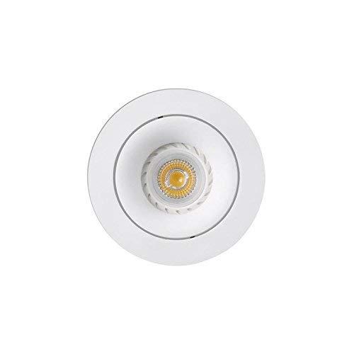 Faro Barcelona Argón 43401 - Empotrable LED, aluminio, color blanco