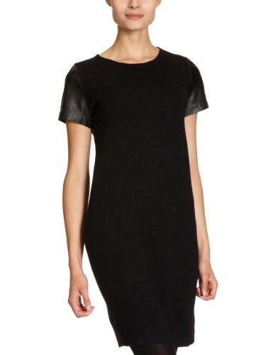 Calvin Klein CK KWW347 MY504 - Vestido Largo hasta la Rodilla para Mujer Negro (999) 42 (36)