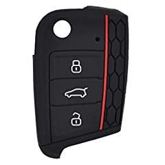Package Include: 1 Black Case Protect your remote or key from wear and scratches Precise fitment, Please check your key/remote whether like the photo before you place the order Brand new, made of high quality silicone material (food grade) This is a ...