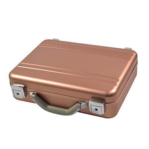 Cosmetic Cases Alukoffer Aluminiumkiste Werkzeugkiste Lagerbox Leergewicht Transportkoffer Mit Hochwertigem Aluminiumrahmen, Stoßfestem Hochwertigen Metallverschlüssen, Abschließbar.