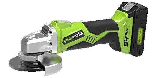 Greenworks 473561 Winkelschleifer, 24 V