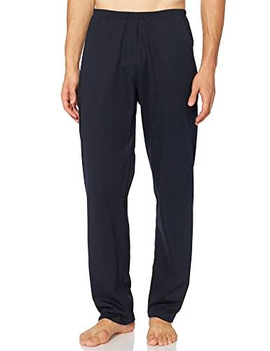 Trigema Herren 637092 Schlafanzughose, Blau (Navy 046), Medium