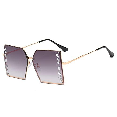 LUOXUEFEI Gafas De Sol Gafas De Sol Cuadradas Gafas De Sol De Gran Tamaño Para Mujer Gafas De Sol Para Hombre