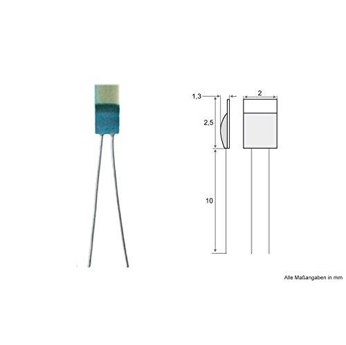PT100 Sensor Messfühler Platin Chip EN 60751-5 Stück Temperatursensor