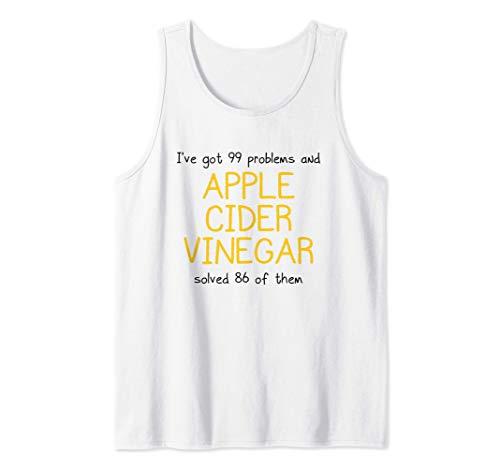Maglietta per amanti dell'aceto di sidro di mele - Cure for Canotta