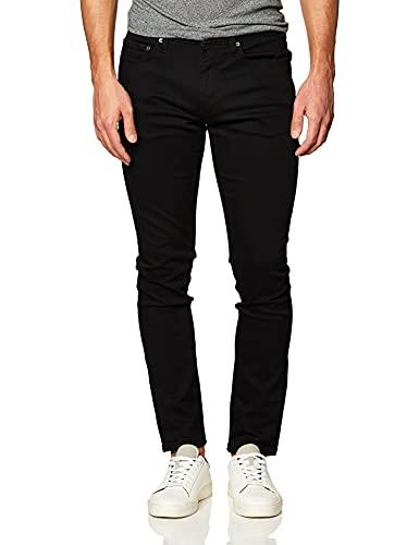 Amazon Essentials Men's Skinny-Fit Stretch Jean, Black, 30W x 32L
