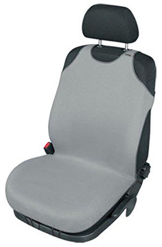 ZentimeX Z740338 Sitzbezug Einzelsitz T-Shirt-Design Baumwolle hell grau