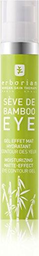 ERBORIAN Sève de Bambou Contour des Yeux Effet Mat Hydratant, 15 ml