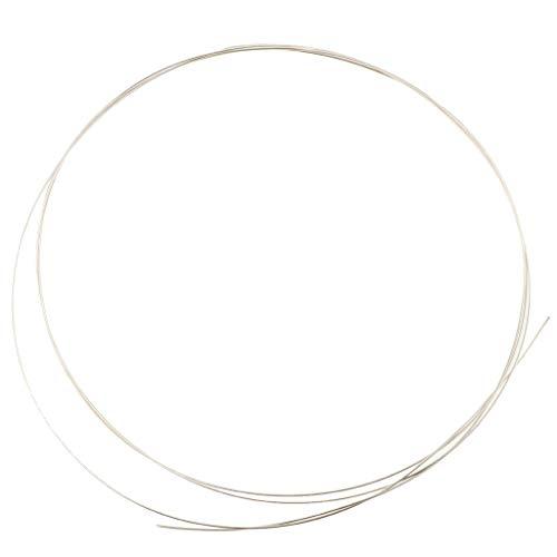 925 Sterling Silber Schmuckdraht Unisex Mode Schmuck Hestellung Zubehör Schmuck Zubehör - 0,6 mm