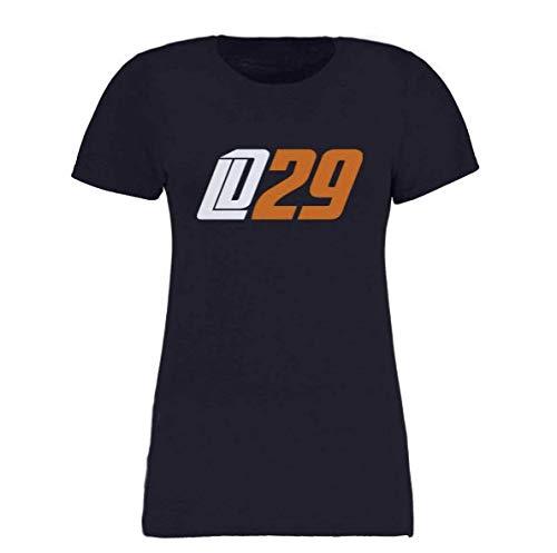 Scallywag® Eishockey T-Shirt Frauen Leon Draisaitl LD29 Oilersnation I Größen XS - XXL I A BRAYCE® Collaboration (Eishockey für Frauen mit NHL Superstar LD29) (M)
