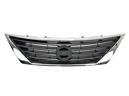 PARRILLA cromado - Compatible con Nissan Versa 2012-2014