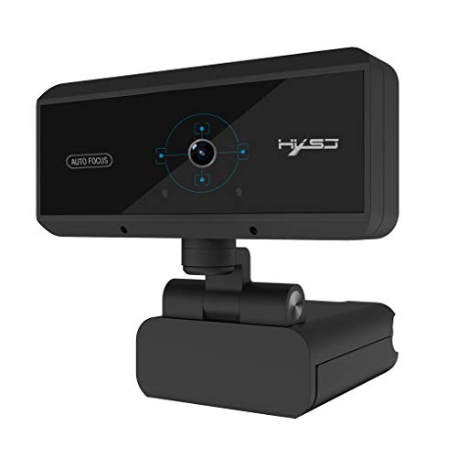 Auto Focus 360 graden rotatie 1080P Camera HD video-oproep USB 2.0 5 Miljoen Pixels Computer Webcam