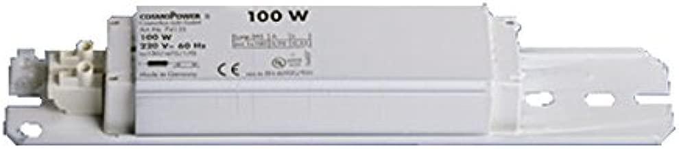 CosmoPower S 100W Choke Ballast - 220V - 60 Hz - Tanning Lamp Ballast #74135