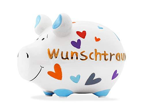 KCG Kleinschwein Wunschtraum Gold-Edition - Sparschwein - KLEI-WUNSCHTR-M01-GOLD