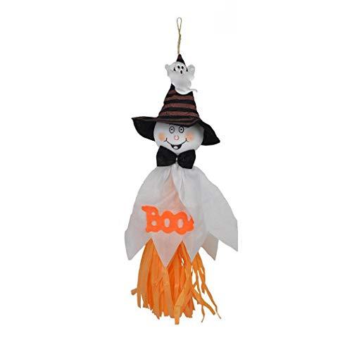 Skipo Accessoires décoratifs suspendus de maison hantée pour la fête dHalloween Décorations de fêtes
