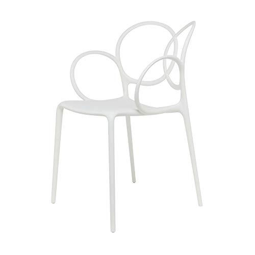 Driade Sissi Brazo Silla reclinable–Color Blanco