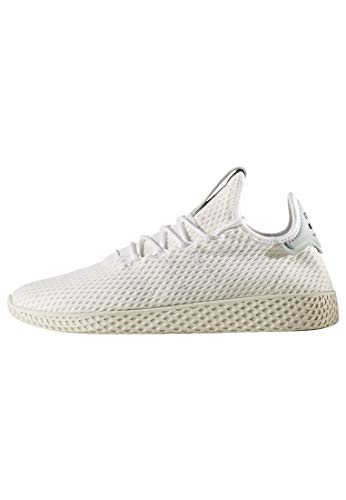 adidas Mens Pharrell Williams Hu Lace Up Sneakers Shoes Casual - White - Size 11 D
