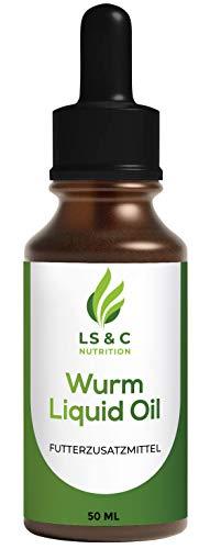 LS&C Nutrition Wurm Liquid Öl | für Hunde und Katze | flüssig, Wurmkur | 50 ml