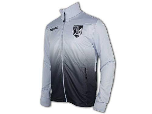 Macron Vitoria Guimaraes Jacke grau Guimarães Anthem Jacket Sportjacke Portugal, Größe:L