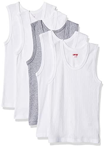 Baby Creysi Pack 5 PZ Camisetas Calado/Cardigan Kids 10 AÑOS, Multicolor, UNT048C