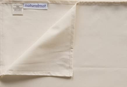 featured product Natural Mat Organic Cotton Percale Fitted Sheet