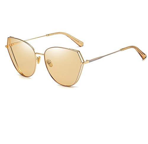 Neue Sonnenbrille/UV-Schutz/Unisex/Classic Polaroid/Metallrahmen/Radfahren, Angeln, Bergsteigen, Einkaufen, Braun, 157 * 63mm