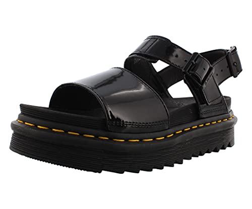 Dr. Martens Damen DM25773001_38 Sandals, Black, EU