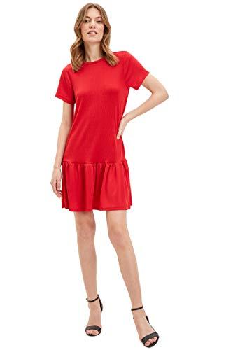 DeFacto Vestido Mujer Rojo