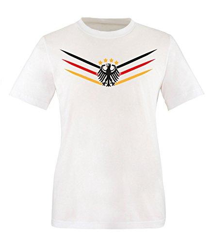 Luckja WM 2018 Deutschland Trikot M 02 Herren Rundhals T-Shirt