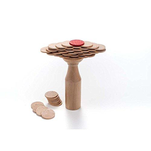 Engelhart - Jeu en Bois des pièces en équilibre sur la Bouteille - 340911