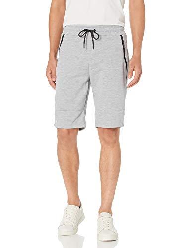 Southpole Men's Jogger Shorts, Heather Grey(Tech Fleece Cargo), XX-Large