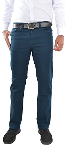 Marken Outlet Kriftel -  Jeans - Relaxed - Uomo Blu/Benzina 36W x 34L