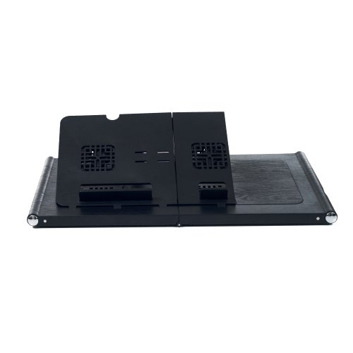 Northwest Laptop USB Powered Dual Fan Cooling Table Desk (75-LD99)