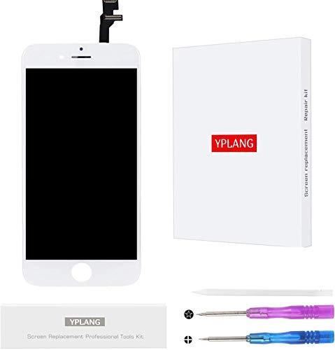 YPLANG iPhone 6 フロントパネル 画面交換修理 用LCD タッチパネル 液晶パネル フロントガラス デジタイザ ...