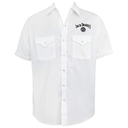 Jack Daniel Breve Tasto del Manicotto Up Large White
