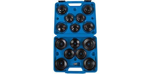 Set da 14 pezzi chiave a tazza filtro olio motore auto smontaggio rimozione