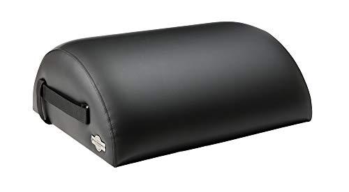 Pequeño barril para uso profesional y privado de Pilates Escandinavia por Prag movimiento. Negro negro