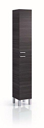 HABITMOBEL Pack Completo BAÑO Mueble 2 Puertas + 2 cajones con Espejo + Lavabo de PMMA (NO Clásica Cerámica) + Columna…