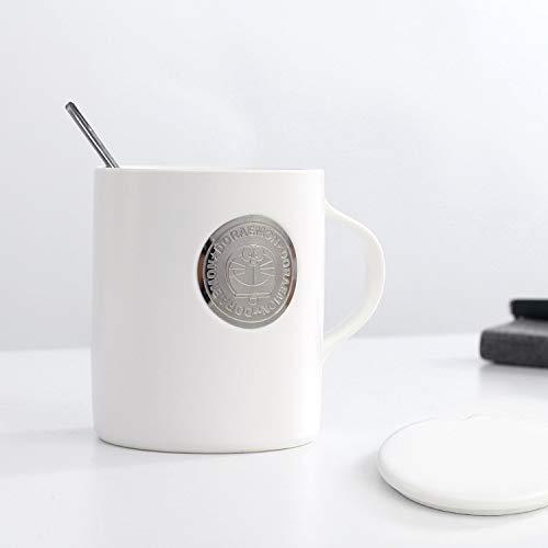 Dong Emaille, Becher, Camping, Camping Cup, Kaffeetasse, Metall Cup, Becher-Cute Toys-Handcrafted, Geschenke, Feiertage, Geschenkideen (Muster-Fox Und Igel)