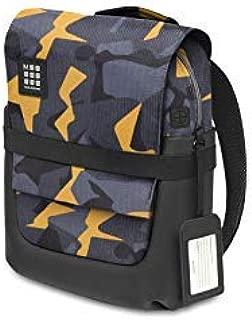 Moleskine ID Backpack, Camo Black Yellow