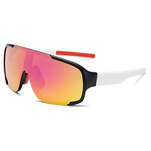 Mazu Homee Explosion-proof Mountain Highway Bicycle Sports Cycling Glasses Men and Women Glossy Mirror Flashing Fishing Sunglasses (Optional in Various Colors)