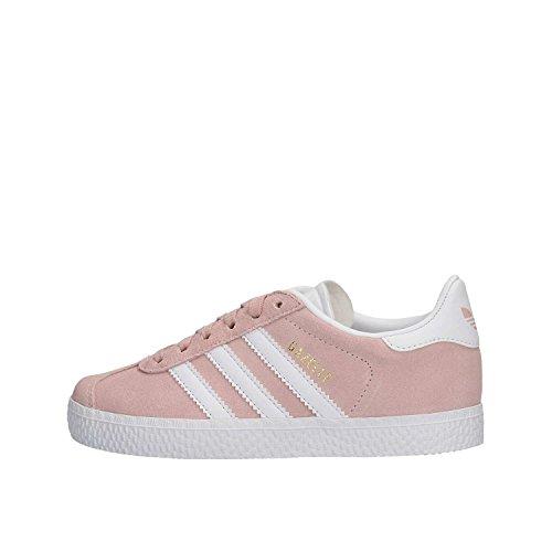 adidas Gazelle C, Chaussures de Fitness Mixte Enfant, Rose (Roshel/Ftwbla/Dormet 000), 35 EU
