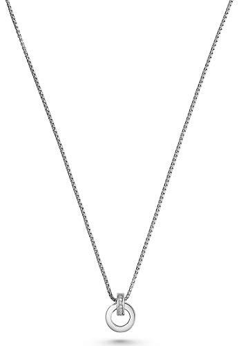 JETTE Silver Damen-Kette 925er Silber 18 Zirkonia One Size 87603547