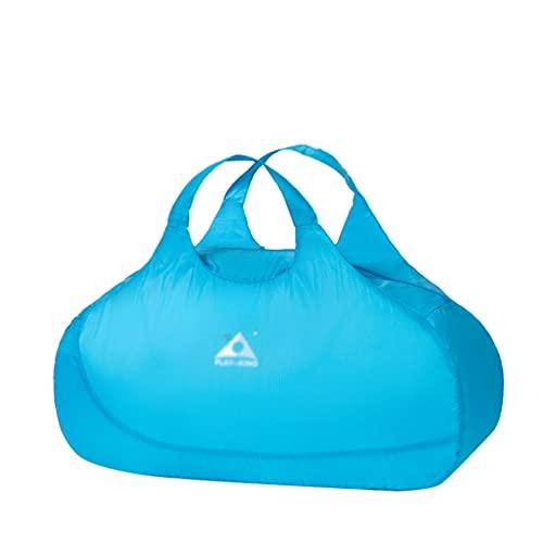 Mengyu Faltbarer Rucksack, Wasserdicht Ultraleicht Unisex Tagesrucksack Reiserucksack Handtasche für Wandern Outdoor-Sport Damen Herren (Blau#3, 58 * 25 * 29cm)