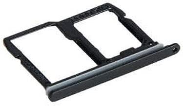 SIM Card Holder Slot Sim Card Tray Replacement Compatible with LG Stylo 4 Stylus Q710 Q710MS Q710CS Q710AL Q710TS Q710US Q710ULM LMQ710FM (Black)