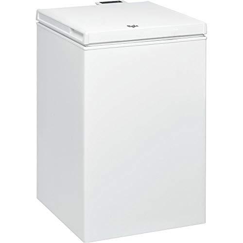 Whirlpool WHS1021 congelatore Libera installazione A pozzo Bianco 100 L A+, Senza installazione