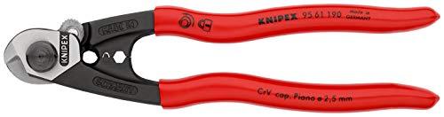 KNIPEX Drahtseilschere geschmiedet (190 mm) 95 61 190