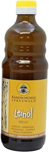 Kanow Mühle, Spreewald - Spreewälder Leinöl, Premiumqualität - 500 ml